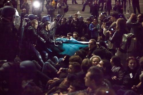 Occupy La Défonce (27) - 04Nov11, La Défense (France)