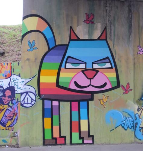 Graffiti in Interlagos São Paulo 1