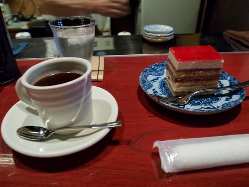 珈琲&ケーキ