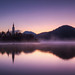 Dawn at Lake Bled