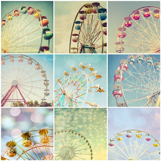 Things I love Thursday. Ferris wheel (no my pics)