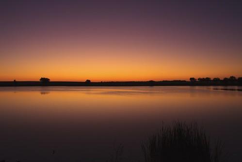 morning lake sunrise reflections landscape dawn colorado daybreak lakescape