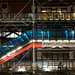 Pompidou at night