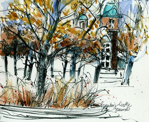 Copenhagen: Rosenborg Castle grounds