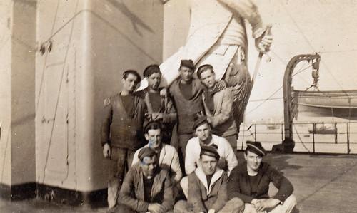 French sailors. Brest, France. 1933.