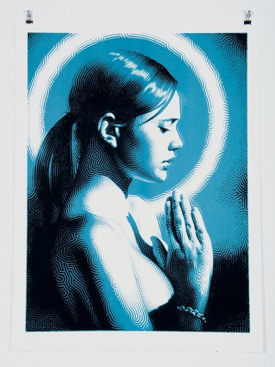 El Mac Prayer Print