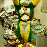 Corn Husky Looks for Applause
