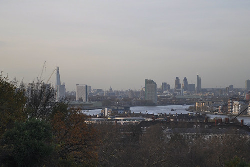 shard and city from greenwich