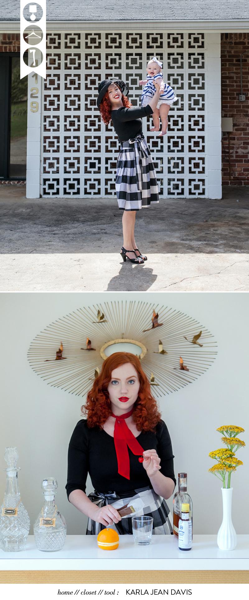 Karla Jean Davis portrait Glass and Sable Home Closet Tool Ciara Sames Jason Travis