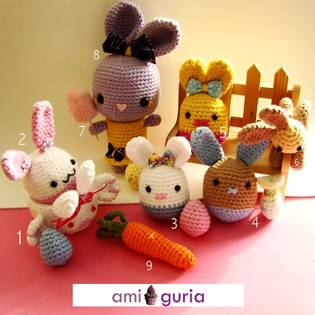 Amigurumi Easter Patterns : Amigurumi Easter I thought it would be fun to add a ...