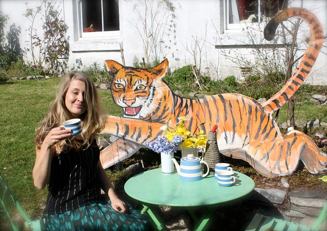 And a tiger came to tea today