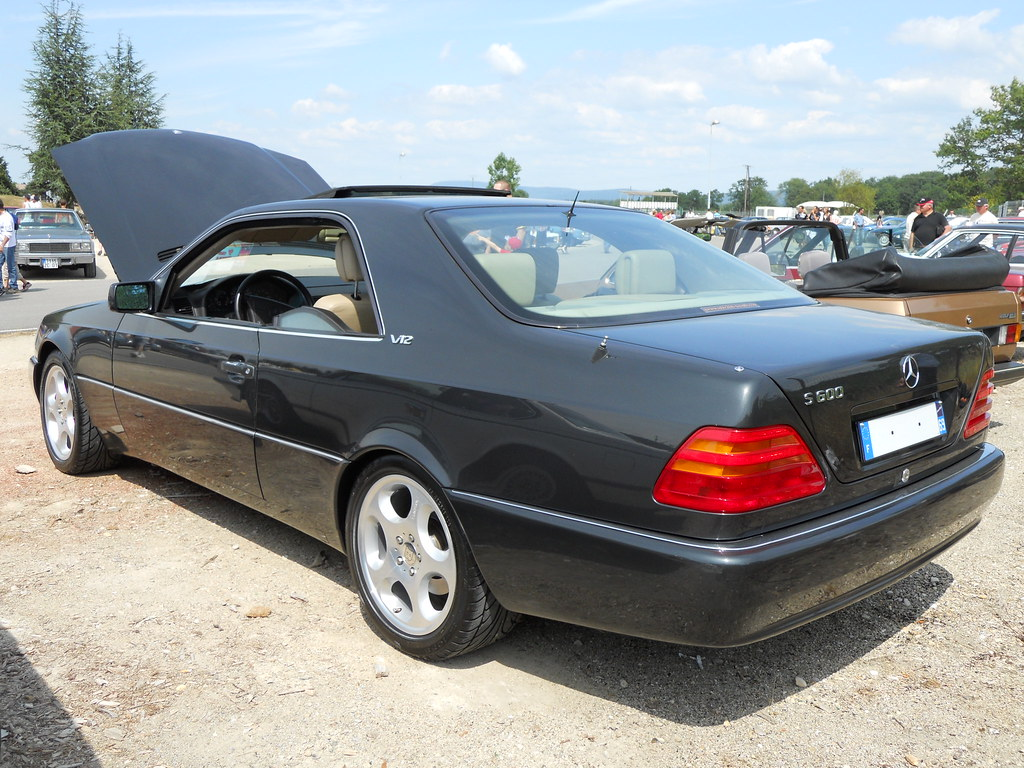 1993 mercedes benz s600 coup 600 sec w140 a photo for Mercedes benz s600 coupe