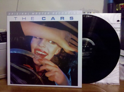 The Cars - S/T LP - Mobile Fidelity Sound Lab