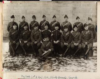 1st B Squadron, Stanley Barracks, Toronto, 1913