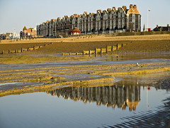 Bexhill Beach Reflections