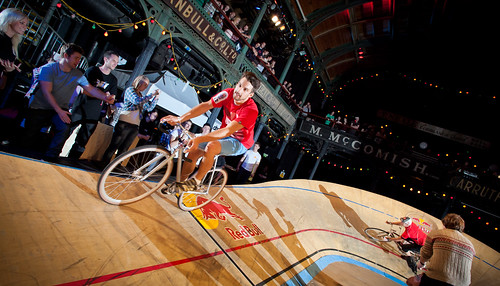 Red Bull Mini Drome Glasgow/Cycling/Fixed Gear/Racing