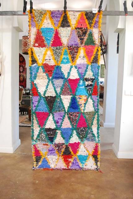 Moroccan Boucherouite Carpet No 646