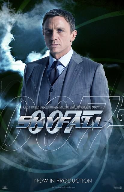 """""""Skyfall"""" Teaser Poster #2"""