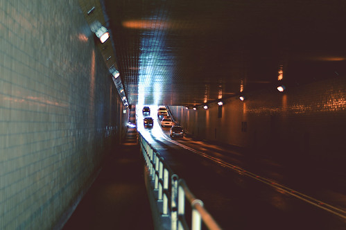 into the underground