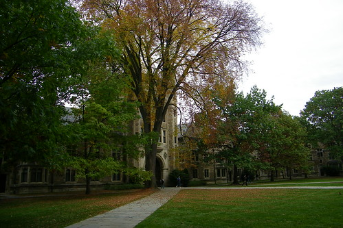 University of Michigan in Autumn