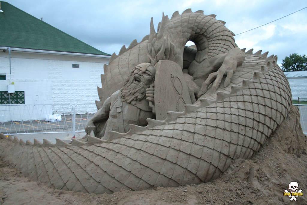 Treasure Island Sand Castle