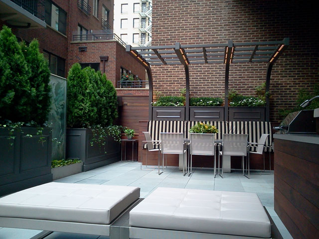 Roof deck transformation flickr photo sharing for Terrazas urban mall chacras de coria