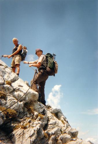 willkommnes Schweigen am Watzmann wirre Leben ist verklungen in den Alpen 209