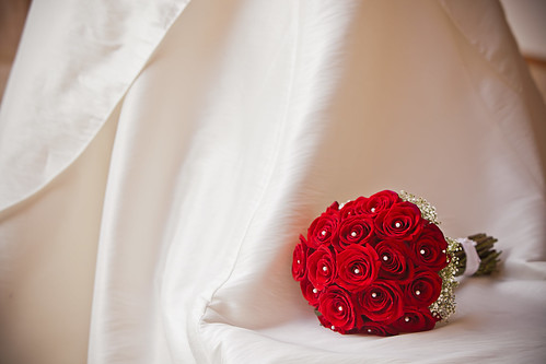 Red Wedding Bouquet - 無料写真検索fotoq