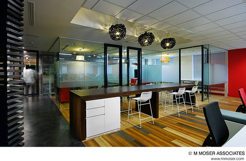 Creative Office Design By M Moser Associates M Moser
