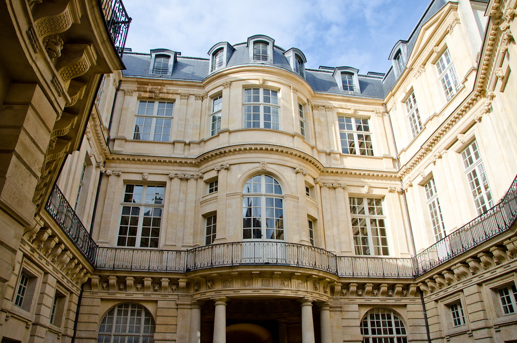 L 39 h tel de beauvais et si on se promenait - Hotel particulier paris bismut architecture ...