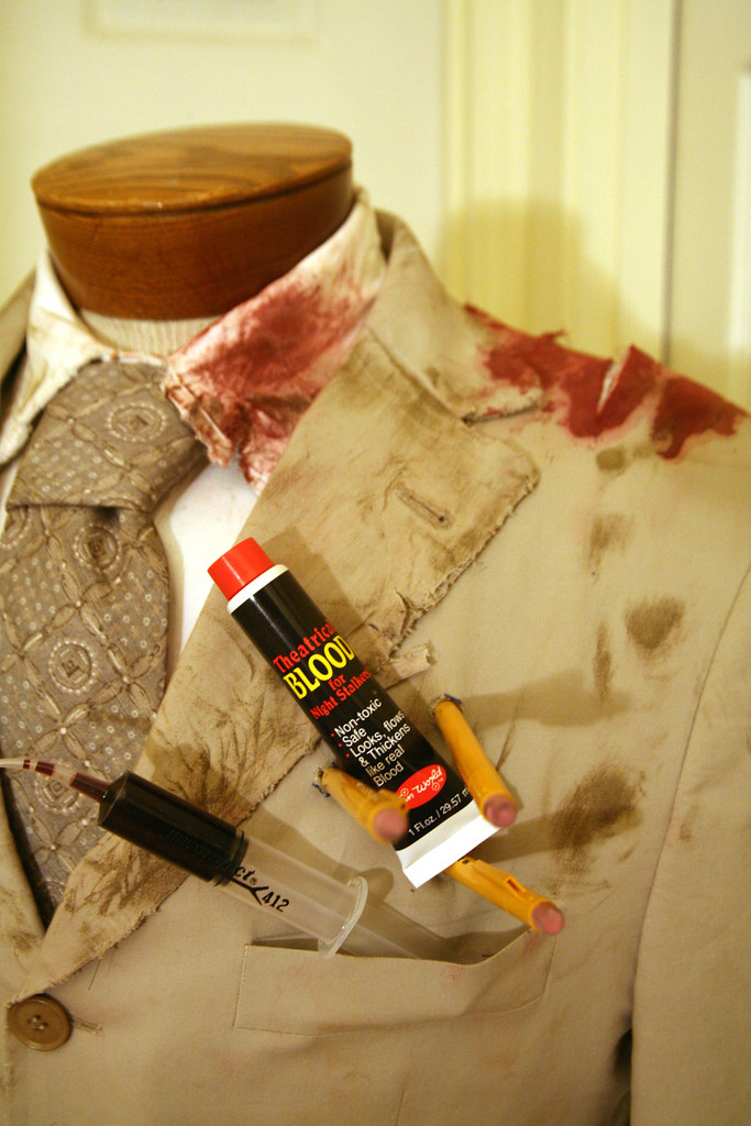 I Want a Zombie Costume: Fake blood