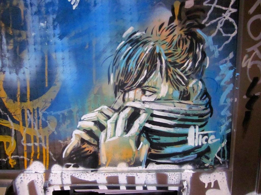 Alice Pasquini - Barcelona