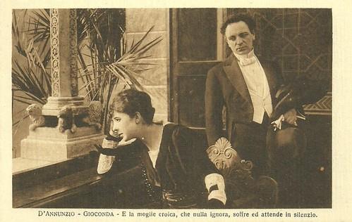Gioconda 10. Mercedes Brignone and Umberto Mozzato in La Gioconda