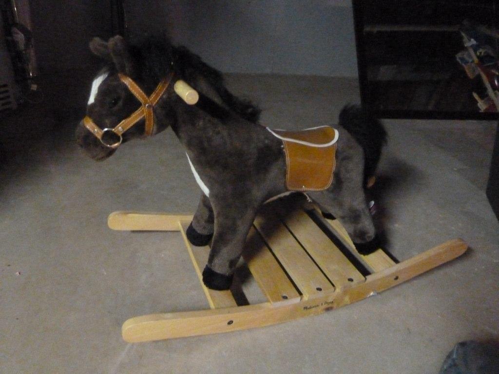 Melissa Doug Rocking Horse Whoa Here Is A Sturdy Lovab
