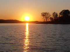 Sunset on Cherokee Lake