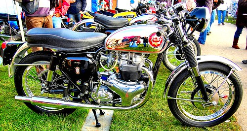 BSA ROCKET GOLD STAR. 650cc TWIN. 1962-1963. UK.