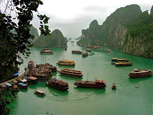 Halong Bay Rush Hour