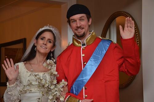 Kate Middleton And Prince William by Joe Shlabotnik