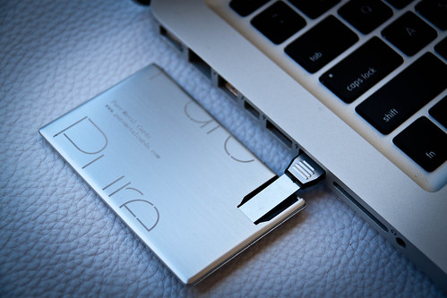 Pure Metal Cards - USB Metal business card