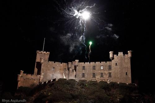 Dunvegan Castle | Fireworks