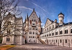 Courtyard Neuschwanstein