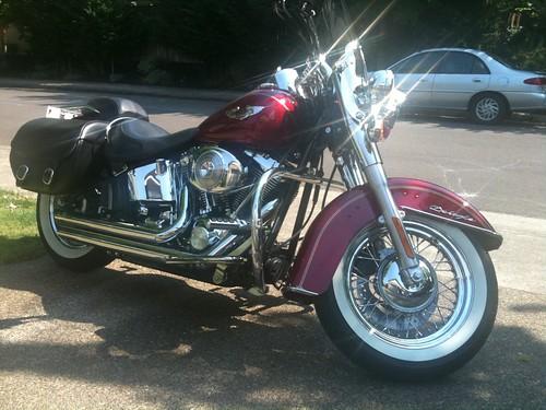 Harley Davidson at home