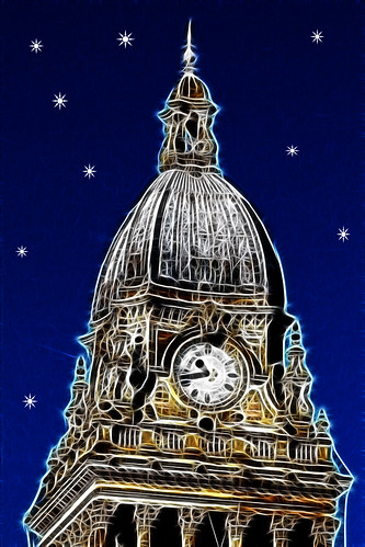 Leeds City Hall Art 2244