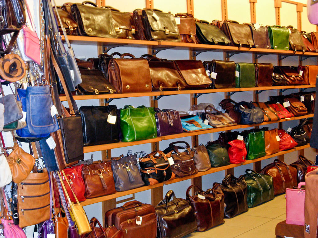 Florence Leather Purse Shop