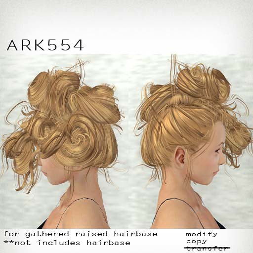 booN ARK554 hair