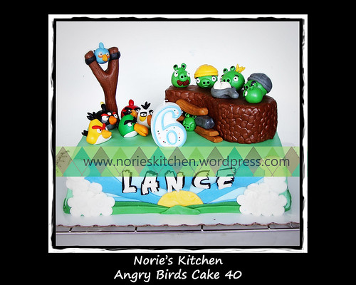 Norie's Kitchen - Angry Birds Cake 40 by Norie's Kitchen