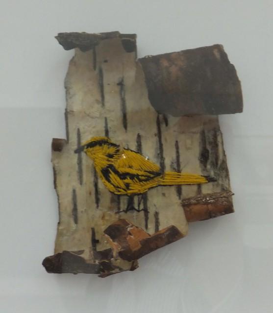 bachman's warbler triptych