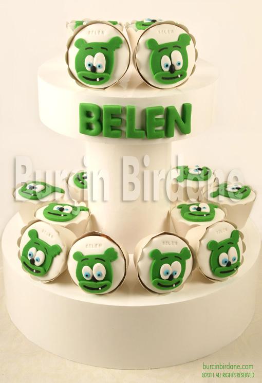 11880 Yesil Ayicik Cupcake1