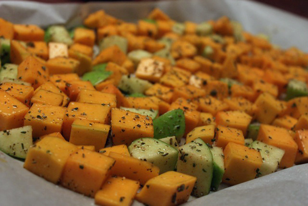 Maple-Roasted Butternut Squash and Apples - The Amateur ...