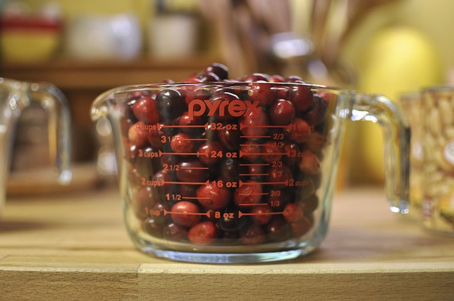 4 cups cranberries
